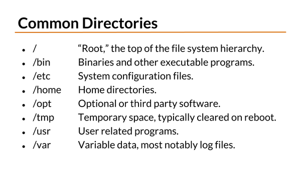 video-course-screenshot-006-Linux-Directory-Structure