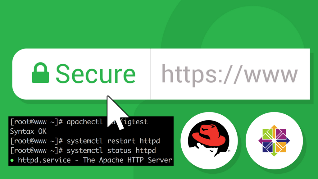 Installing An Ssl Certificate On Centosapache Linux Training Academy